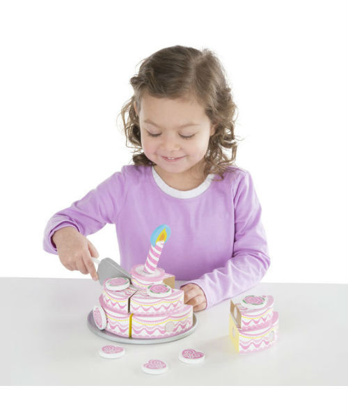 Melissa Doug Triple Layer Party Cake